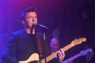 Watch Rick Astley Play His First US Concert In 27 Years