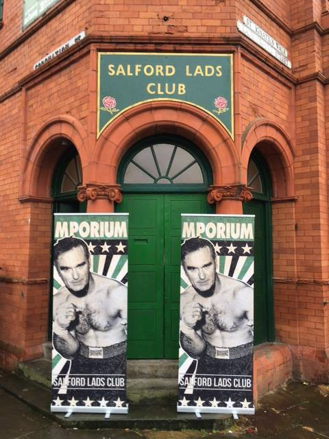 Now Even Morrissey's Got A Pop-Up Shop