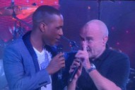 "Watch Phil Collins Sing ""Easy Lover"" With Leslie Odom Jr. At US Open Opening Night Ceremony"