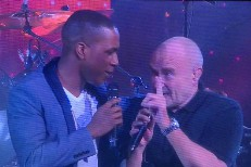 Leslie Odom Jr. & Phil Collins