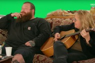 Watch A Supremely Stoned Action Bronson Freestyle With Melissa Ethridge