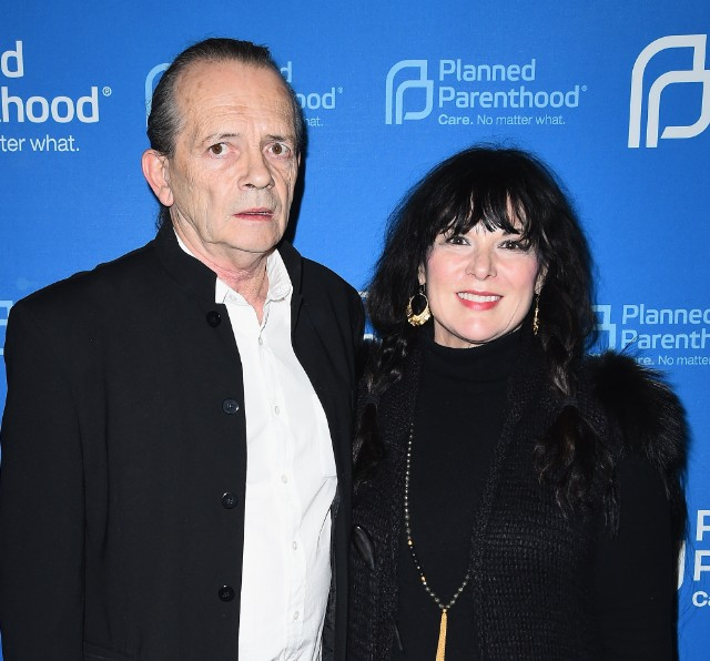Ann Wilson and husband