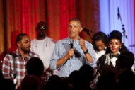 President Obama Listens To Chance The Rapper, Courtney Barnett, Fiona Apple