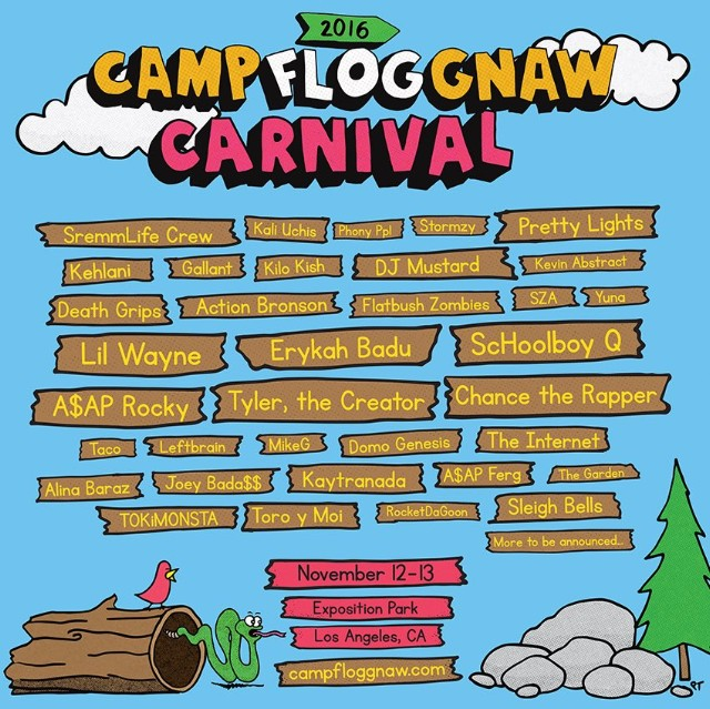 How Much Is Camp Flog Gnaw 2016