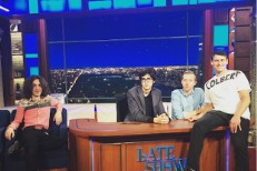 Car Seat Headrest on Colbert