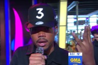Watch Chance The Rapper&#8217;s Beautiful &#8220;Summer Friends&#8221; Performance On <em>Good Morning America</em>