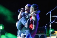 Watch Dennis Rodman Join Pearl Jam In Chicago And Hold Eddie Vedder In His Arms