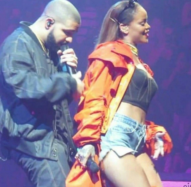 Drake and Rihanna at OVO Fest