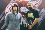 "Watch Drake Bring Out ""The Greatest Rapper To Ever Touch A Microphone"" Eminem In Detroit"
