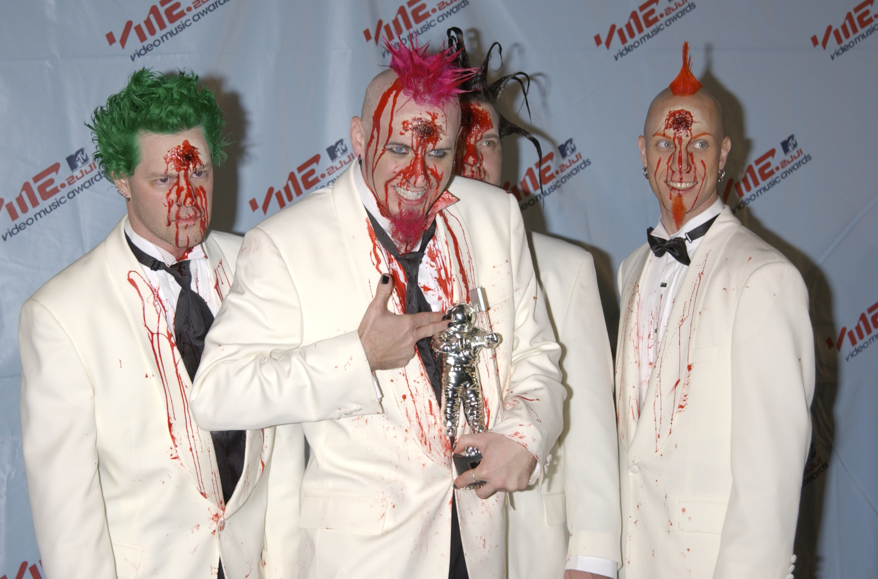 How The Hell Did Mudvayne Ever Win A Vma Stereogum