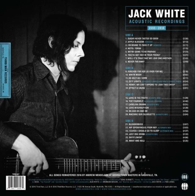 Jack White Back Cover