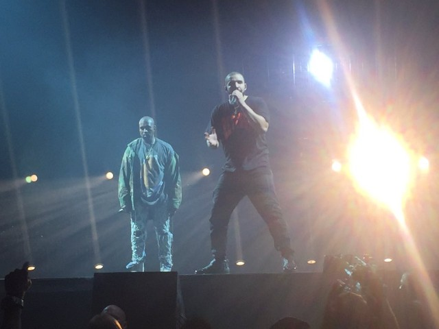 Kanye and Drake OVO Fest