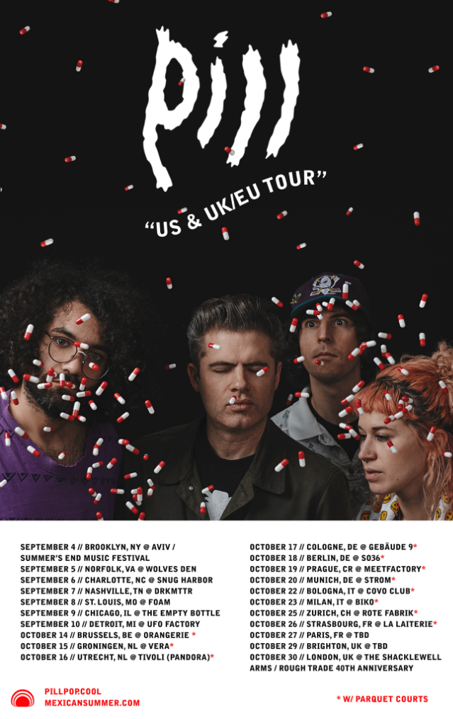 Pill's US & UK/EU Tour