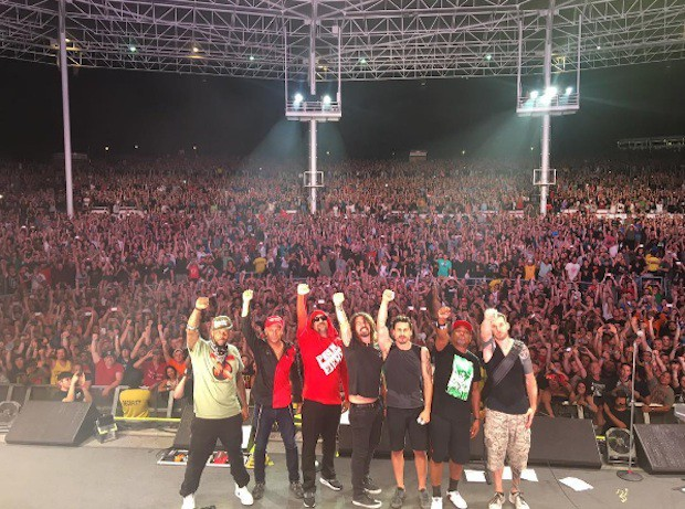 Prophets Of Rage and Dave Grohl