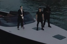 Rick Ross and Skrillex - Purple Lamborghini video