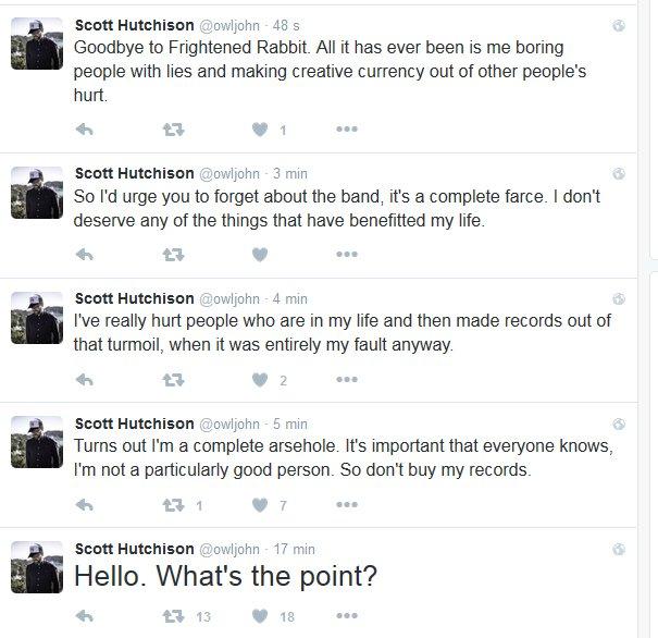 Scott Hutchinson tweets