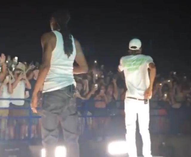 Fans Injured In Railing Collapse At Snoop Dogg & Wiz Khalifa Concert