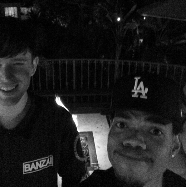 Chance The Rapper, James Blake Disagree About Whether They Leased A Hollywood Mansion Together