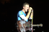 "Watch Coldplay's Chris Martin Cover Bruce Springsteen's ""Streets Of Philadelphia"" In Philadelphia"