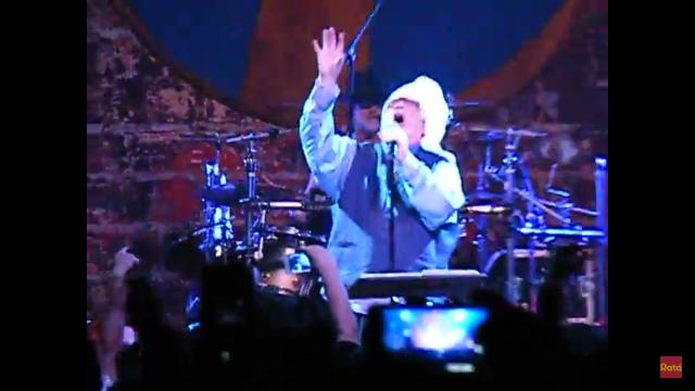 John Lydon in Chile
