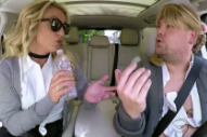 Watch Britney Spears In Carpool Karaoke And An Apple Music Commercial With Kevin Bacon