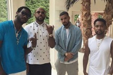 Drake visits Gucci Mane at his Mansion