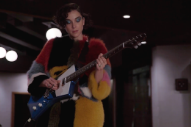 "Watch St. Vincent Shred ""The Star Spangled Banner"" In An NFL Promo"
