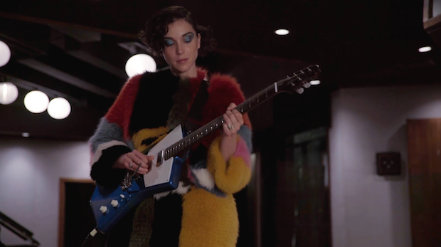 Watch St. Vincent Shred