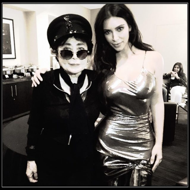 Sean Lennon Defends Yoko Ono Over Backstage Photo With Kim