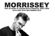Morrissey Announces Pop-Up Shop At Brooklyn Dog Shelter
