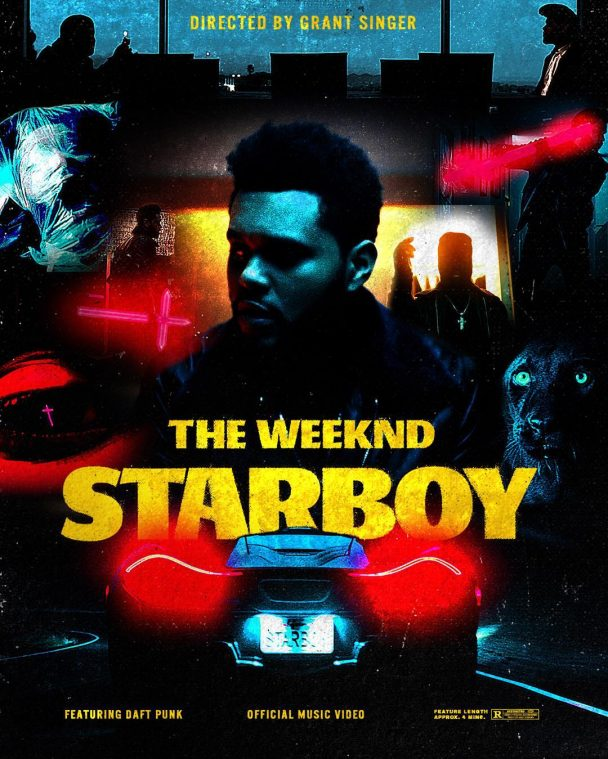 The Weeknd Amp Daft Punk S Starboy Video Gets Mtv Ema