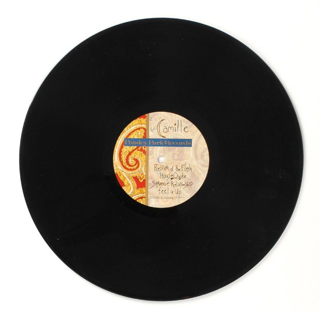 Extremely Rare Vinyl Of Unreleased 1986 Prince Album <em>Camille</em> Up For Auction