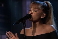 Watch Ariana Grande Perform Bonus Track &#8220;Jason&#8217;s Song&#8221; With The Roots On <em>The Tonight Show</em>