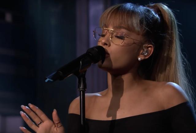 Ariana Grande on The Tonight Show