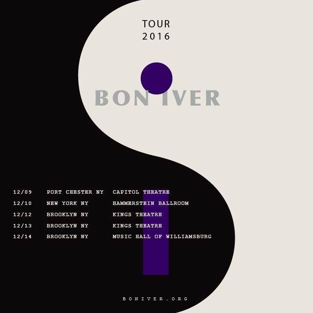 Bon Iver NYC Dates