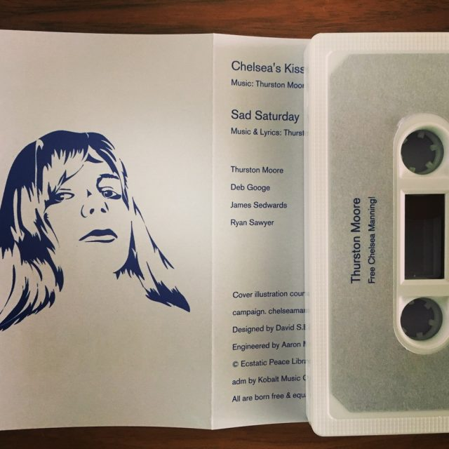 Thurston Moore Cassette Day Single