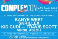 Kanye West, Skrillex Headline ComplexCon 2016
