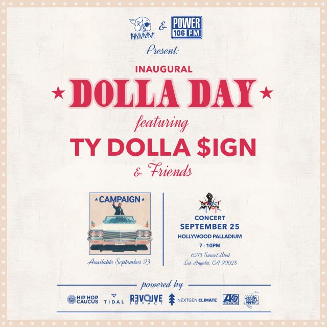 Livestream Ty Dolla $ign's Dolla Day Concert