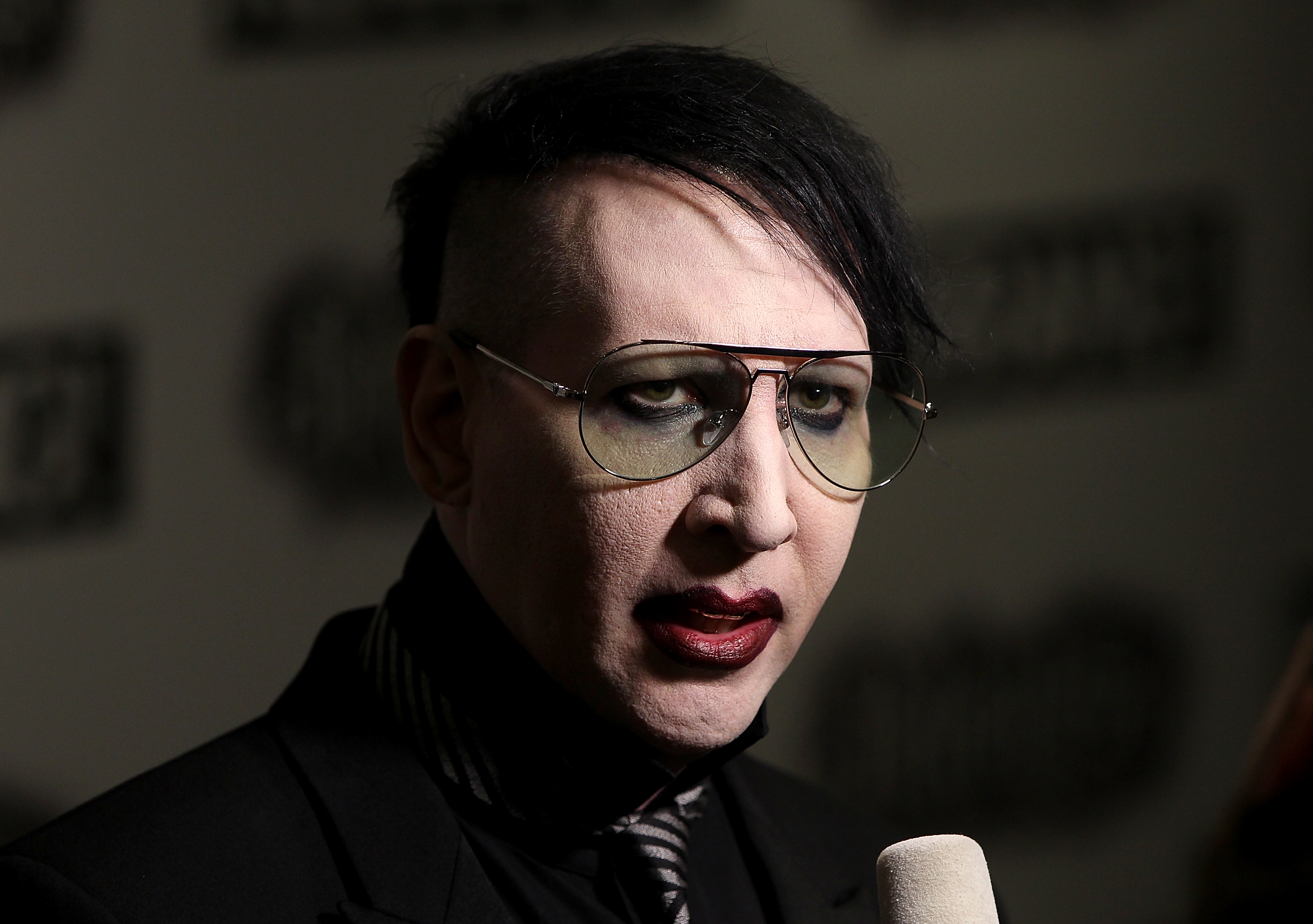 marilyn manson will not rock the vote stereogum. Black Bedroom Furniture Sets. Home Design Ideas