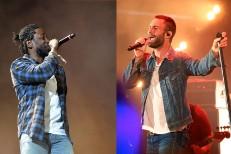 Kendrick Lamar & Adam Levine
