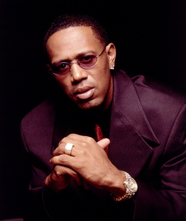 Rapper Master P Poses For A Portrait October 1999