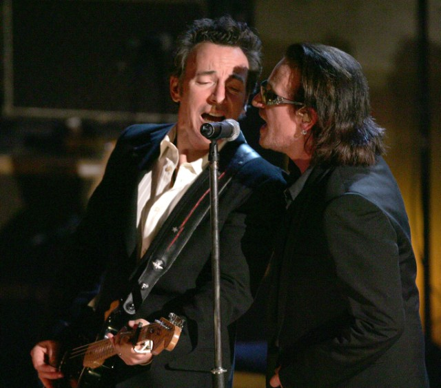 Bruce Springsteen and Bono