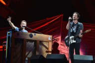 Watch Eddie Vedder & Chris Martin Play Crowded House, Pearl Jam, & Patti Smith At Global Citizen Festival