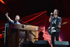 Chris Martin & Eddie Vedder