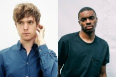 James Blake and Vince Staples