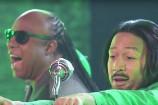 Watch John Legend &#038; Stevie Wonder Recreate OutKast&#8217;s &#8220;Hey Ya!&#8221; Video On <em>Lip Sync Battle</em>
