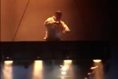 Kanye West and dangler