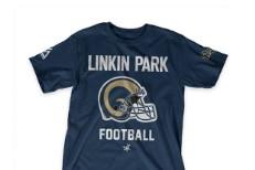Linkin Park football shirt
