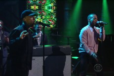 Mac Miller and Anderson Paak on Colbert