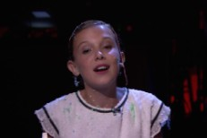 Millie Bobby Brown on The Tonight Show